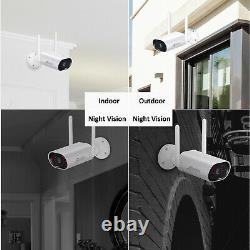 Anran 3mp Home Wireless Security Camera System Outdoor 2 To Hdd 5mp Nvr Audio Kit