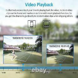 Anran 8ch Wireless Home Security Camera System Extérieur Avec Audio Enregistrement Wifi
