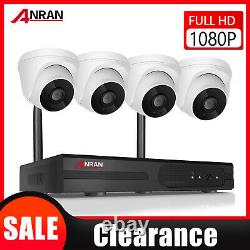 Anran Wireless Outdoor Home Security Camera System Avec Oneway Audio 1080p Cctv