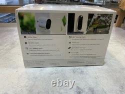 Arlo Essential Cam Bundle 2 Caméras De Sécurité 1 Modèle De Sonnette Vidéo #vmk2260