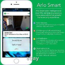Arlo Go Caméra De Sécurité Mobile Hd At&t Sans Fil Lte Night Vis Vml-4030-100nas Ob