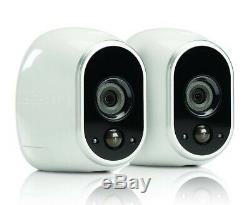 Arlo Système De Caméra De Sécurité Sans Fil À Domicile Intérieur / Extérieur Kit 2 Caméra