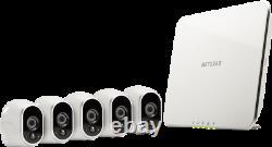 Arlo Vms3530-100nar 5 Caméras Hd Sans Fil Système De Sécurité Remis À Neuf