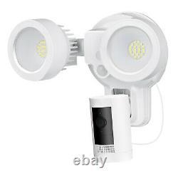 Bague Stick Up Cam Batterie Avec Anneau De Montage De Lumière De Crue Caméra, 1 Pack