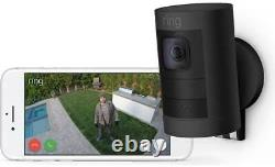 Bague Stick Up Wireless Battery Indoor And Outdoor Security Camera Black