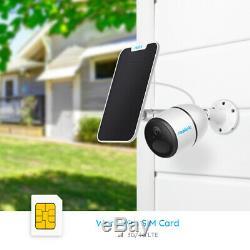 Batterie Caméra De Sécurité Réseau Mobile 4g Lte Powered Reolink Go Et Panneau Solaire