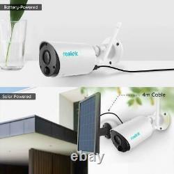 Batterie De Caméra De Sécurité Wifi 1080p Sans Fil Propulsée En Plein Air Argus Eco 2-pack