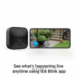 Blink Caméra De Sécurité Sans Fil En Plein Air 1080p Avec Batterie De 2 Ans 3 Kit De Caméra