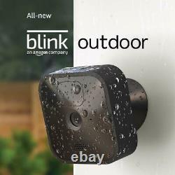 Blink Caméra De Sécurité Sans Fil En Plein Air 1080p Avec Batterie De 2 Ans 5 Kit De Caméra