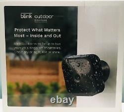 Blink Outdoor (3e Génération) Système De Caméra De Sécurité Sans Fil 2 Système De Caméra