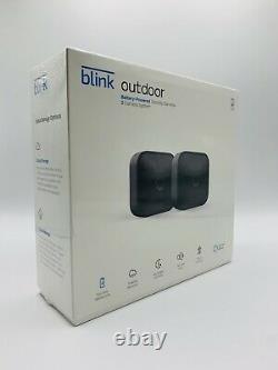 Blink Outdoor Wifi 2-camera Security System 2020 Nouveau Modèle + Alexa