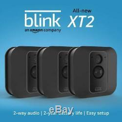 Blink Xt2 3 Caméra Intérieure 1080p Extérieur Smart Home Système De Sécurité Avec Le Stockage