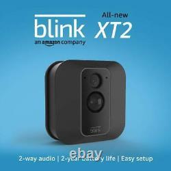 Blink Xt2 Home Security 1 Kit Système De Caméra 2 Way Audio 2 Ans D'autonomie De La Batterie