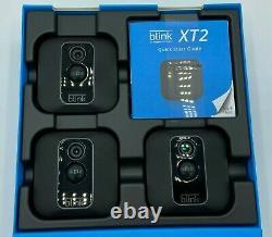 Blink Xt2 Intérieur/extérieur Wi-fi Sans Fil Caméra De Sécurité Hd 1080p 3 Kit De Caméra