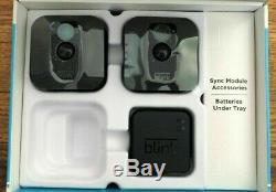 Blink Xt 2-kit Caméra Accueil Sécurité Système 1ère Génération Caméra
