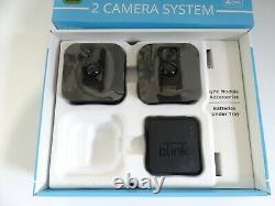 Blink Xt Home Security Deux Système De Caméra Avec Hd Sync Module De Base