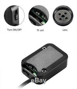 Bouton Spy Plus Petite Caméra Portable Ultra-léger 24/7 Full Hd 1080p Sécurité