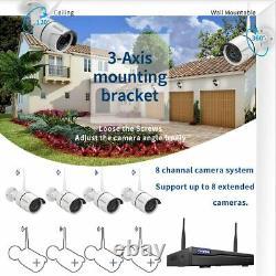 Camaras De Seguridad Wifi Exterior 1080p Inalambricas Con Vision Nocturna Vidéo