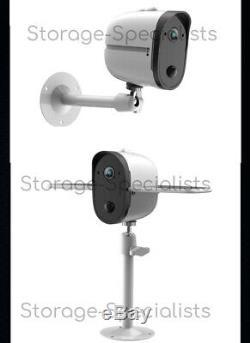 Caméra De Sécurité Accueil Temps Solaire Extérieur Sans Fil Batterie Longue Pir Radar Wifi Ip