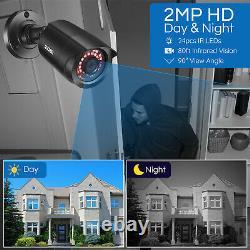 Caméra De Sécurité Extérieure De Zosi De Système Pour 8ch 5mp Lite Dvr Remote View