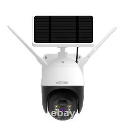 Caméra De Sécurité Sans Fil Solar Power Wifi Caméra De Surveillance Extérieure Étanche