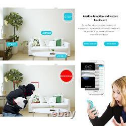 Caméra De Sécurité Wi-fi 5mp Caméra Extérieure Sans Fil 8ch Nvr Ip Home Ir Night