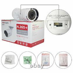 Caméra Hikvision 4k 8mp Outdoor Bullet Ip Ds-2cd2083g0-i 2.8mm