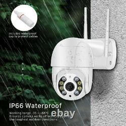 Caméra Ip Hd 1080p Wifi Extérieur Ptz Cctv Sécurité Sans Fil Smart Home Ir Cam Us