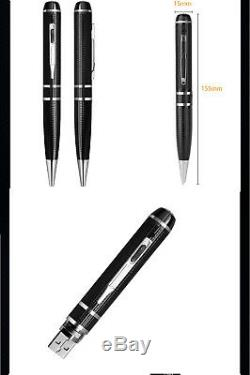Camera Pen Pocket Wearable Ultra Xhd Vidéo 2k 1296p Sécurité À La Maison