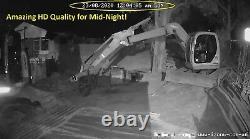 Caméras De Sécurité 4g Solaires Extérieures Multiples, Ferme De Vidéosurveillance, Maison, Chantier De Construction