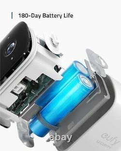 Eufy Eufycam 2c 1080p Système De Sécurité Sans Fil Caméra Vidéosurveillance Extérieure Audio À 2 Voies