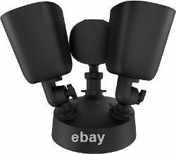 Eufy Outdoor Wireless 1080p Security Floodlight Camera Noir