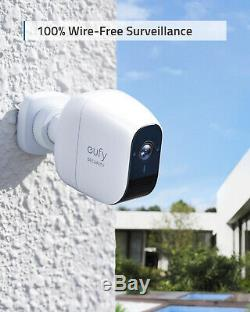 Eufy Wireless Home Security Hd Système De Caméra Ip65 Night Vision 2-cam Kit