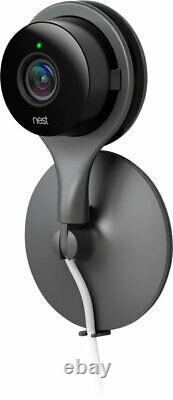 Google Nest Cam Indoor Security Camera Black (nc1102es) Flambant Neuf