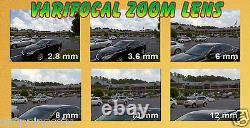 Gw 2048p 6mp Ip Poe Bullet Caméra De Sécurité Résistant Aux Intempéries Varifocal Lens 165 Ft