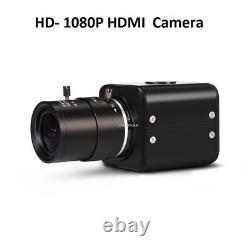 Hd 1080p 60fps Hdmi Objectif De Sortie Vidéo 2.8-12mm Caméra De L'industrie
