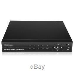 Hd Dvr 8ch 1080p 3000tvl Extérieur Accueil Surveillance Kit Système De Caméra De Sécurité