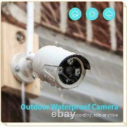Heimvision Hd 1080p Caméra Ip Cctv Sans Fil Wifi 8ch Nvr Home Security System Us