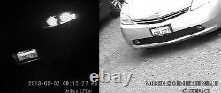 Hi-speed Plaque D'immatriculation Capture Caméra Infrarouge Sony CCD 700 Tvl 5-50mm Extérieur