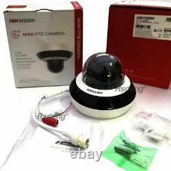 Hikvision Ip Ptz 4mp 4xzoom Poe Ds-2de2a404iw-de3 Wdr Caméra Extérieure