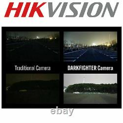 Hikvision Original 4k 8mp Ds-2cd2385g1-i Turret Dome Ip Camera Darkfighter 2.8mm