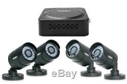 Home Security Camera System 4 Channel Outdoor Dvr Kit Night Vision 500go Smart