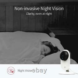 Lot 8 Yi Home Camera 1080p Système De Surveillance De Sécurité Ip Sans Fil Night Vision