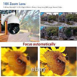Mise Au Point Automatique Du Capteur Sony Caméra Ip 5.0mp 1440p Poe 30x Zoom Optique Ptz P2p Ip66