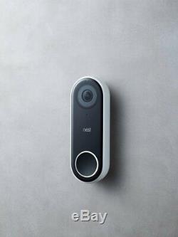Nest Bonjour Vidéo Hd Sonnette Wifi Intelligent Caméra De Sécurité Avec Vision Nocturne Nc5100us