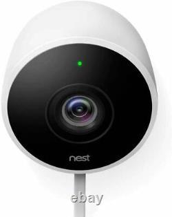 Nestcam Caméra Extérieure De Surveillance De Sécurité Hd Avec 2 Voies Audio (2 Pack)