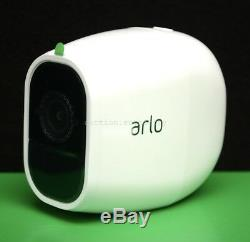 New Arlo Pro 2 Hd 1080p Netgear Add-on Caméra De Sécurité Sans Fil Blanc Vmc4030p