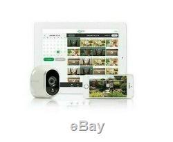 Nouveau Arlo Vms3630b-100nas Sans Fil, Système De Sécurité Avec 6 Caméras Inclus