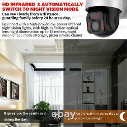 Nouveau Solar Powered Wifi Caméra De Sécurité Sans Fil Extérieure Ptz Caméra Étanche