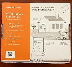Nouveau Vivint Outdoor Camera Pro 4k 2 Way Voice Free Shipping